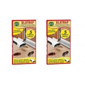 Capcană adezivă de gândaci, 2 seturi - 10 buc, Mondo Verde