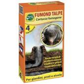 Cartușe fumigene (4 buc.) pentru combaterea cârtițelor și orbeților
