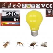 Bec LED cu lumină invizibilă pentru insecte, Bec anti țânțari, muște