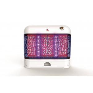 Lampă anti insecte (muște, tânțari, molii), lumină LED, 80 de mp, 24 W, Swissinno