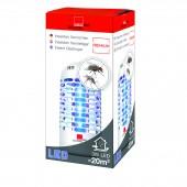 Lampă anti insecte (muște, tânțari, molii), 20 de mp, 3 W, Swissinno