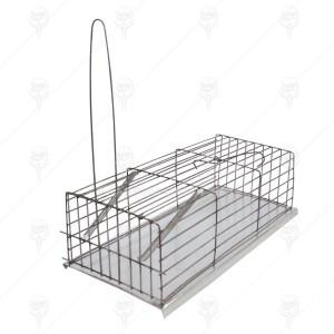 Capcană metalică pentru șobolani Clasic 31/10/15 cm