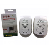 Aparate cu ultrasunete si unde electromagnetice anti șoareci, șobolani, gândaci, furnici, Pest Repeller Plus, 2x230 mp, Gardigo