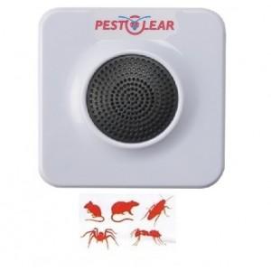 PEST REPELLER SlIMLINE 1000 cu ultrasunete împotriva șoarecilor, șobolanilor și insectelor târâtoare pentru 93 mp