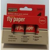 Capcană-spirală cu adeziv pentru muște sau alte insecte zburătoare  – cutie 4 buc.