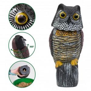 Sperietoare 3D BUFNIȚĂ pentru toate păsările și rozătoare