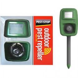 Dispozitiv cu alarmă acustică împotriva păsărilor, pe baterii/ priză 220 V, 4000 mp, Sonic Bird