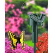 Fluture solară de alungare a păsărilor mici și a insectelor din ghiveci pentru balcoane și terase, pervaze, gradină, curte