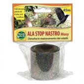Ala Stop Nastro Bandă reflectivă împotriva păsărilor (vrăbii, ciocănitori, porumbei, grauri, mierle, ciori, coțofene, mâncătorii de albine)- Lungime 45 de metri