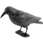 Sperietoare pentru păsări mici (porumbei, mierle, pițigoi, etc.) cu formă de Corb de mărime naturală, Gardigo
