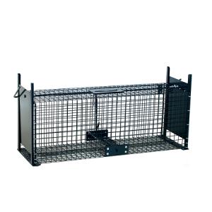 Capcană cu două deschideri (cușcă) pentru jderi, dihori, pârși,  iepuri, șobolani – 61cm / 21cm / 23cm