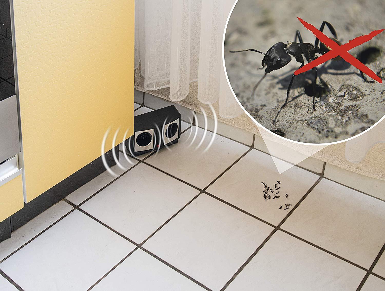 Dispozitiv cu ultrasunete împotriva șoarecilor, șobolanilor și furnicilor